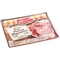 Plateau dégustation - jambon sec italien 25% - coppa...