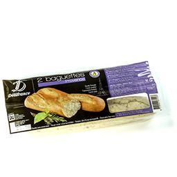 Baguettes précuites aux herbes de provence