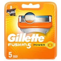 Fusion5 Power Lames De Rasoir Pour Homme 5Recharges