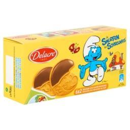 Schtroumpfs - 6x2 biscuits au chocolat au lait