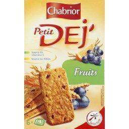 Petit dej' - biscuits aux céréales et fruits