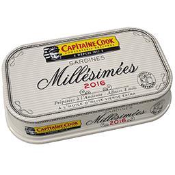 Sardines Millésimées 2016 à l'huile d'olive vierge e...