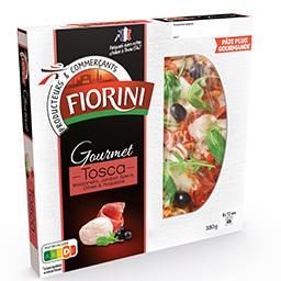 Gourmet - Pizza Tosca mozzarella jambon speck olives