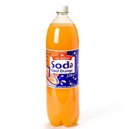 Soda - goût orange - boisson gazéifiée aromatisée