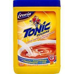 Préparation pour boisson cacaotée instantanée, tonic...