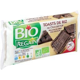 Toasts de riz au chocolat noir bio