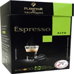 Espresso alto capsules