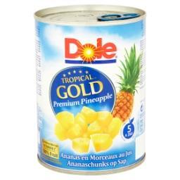 Tropical Gold Premium Pineapple Ananas en Morceaux a...
