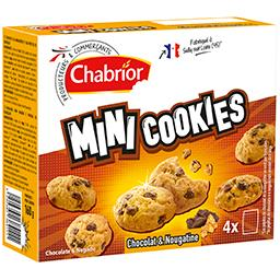 Mini Cookies chocolat & nougatine