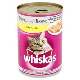 Aliment au poulet en sauce pour chats