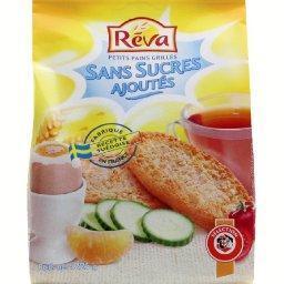 Petits pains grillés au blé complet sans sucres ajou...