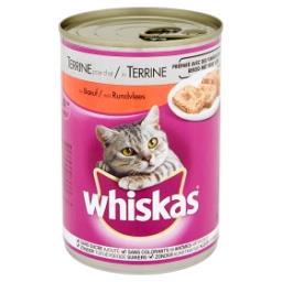 Terrine au bœuf pour chats