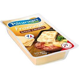Fromage pour raclette sans croûte