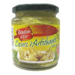 Coeurs d'artichaut à l'huile