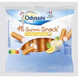 Surimi snack - mini-bâtonnets avec sauce mayonnaise