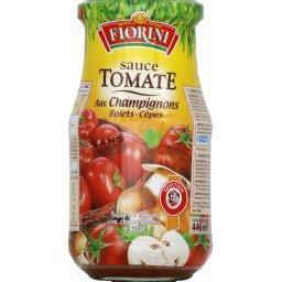 Sauce tomates aux champignons, bolets-cèpes