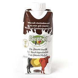 Lait entier goût chocolat UHT 3,5% - lait équitable