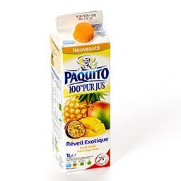 100% pur jus de 3 fruits exotiques - réveil exotique