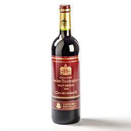 Vin rouge - haut-médoc - 2008 - cru bourgeois - vign...