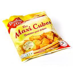 Les maxis cubes - pommes de terre préfrites - huile ...