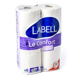 Papier toilette - le confort - à l'aloe vera - 3 épa...