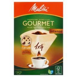 Filtres à café - gourmet intense - 1x4