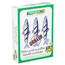 Petites Sardines Grillées a l'Origan Bio et Huile d'...