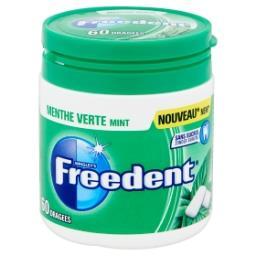 Chewing gum goût menthe verte - 60 dragées