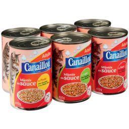 Mijotés en sauce pour chats - 3 variétés
