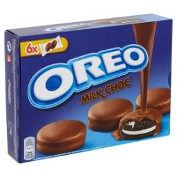 Biscuits cacaotés fourrés à la crème et enrobés de c...
