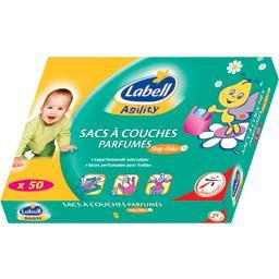 Agility - sacs à couches parfumés