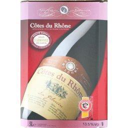 Côte du rhône, vin rouge