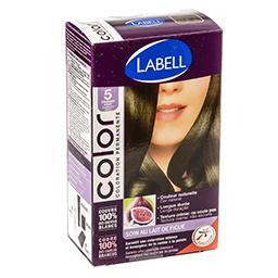 Coloration permanente pour cheveux châtain clair 5