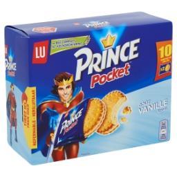 Prince - biscuits fourrés parfum vanille