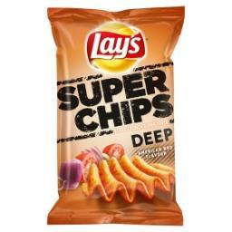 Chips deep ridged - american bbq