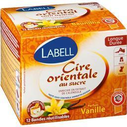 Cire orientale au sucre, parfum vanille, longue duré...