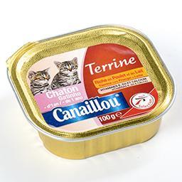 Terrine pour chaton riche en poulet et au lait - ali...
