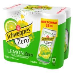 Zero Lemon aux Saveurs de 4 Citrons