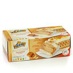 Glace caramel-vanille - pâte à glacer caramel avec b...