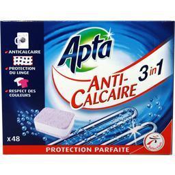 Pastilles anticalcaire 3 in 1 pour lave-linge