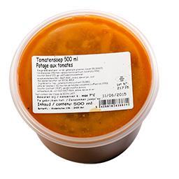Potage aux tomates