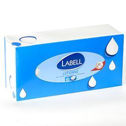 Mouchoirs en papier lotionné