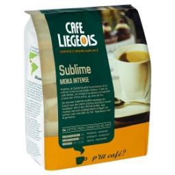 Dosettes de café - moka intense - sublime - rondeur ...