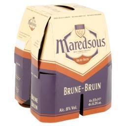 Bière Belge d'Abbaye Brune