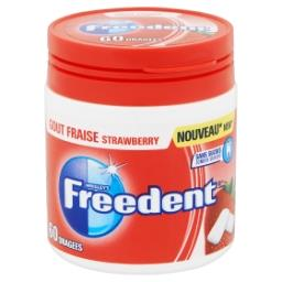 Chewing gum goût fraise - 60 dragées