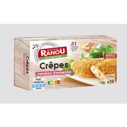 Crêpes jambon/fromage