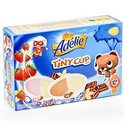Tiny cup - glaces pour enfants - vanille fraise et v...