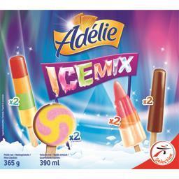 Assortiment de glaces Icemix