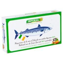 Maquereau de la Mer d'Irlande aux Petits Légumes Bio...