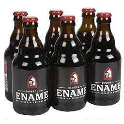 Bière belge brune de fermentation haute, refermentée...